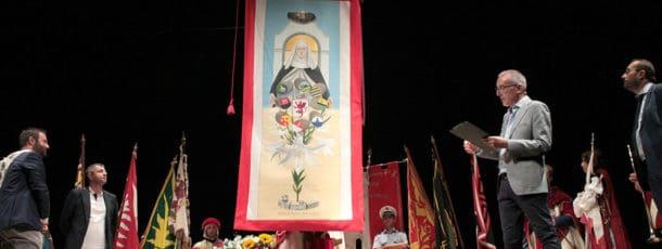Presentato il panno dedicato a Sant'Agnese