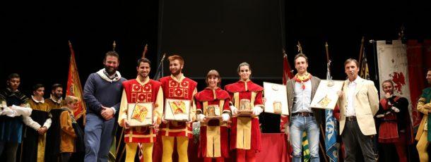 Poggiolo vince l'Arca d'Argento 2017, alla Contrada di Talosa il premio miglior sbandieratori e tamburini