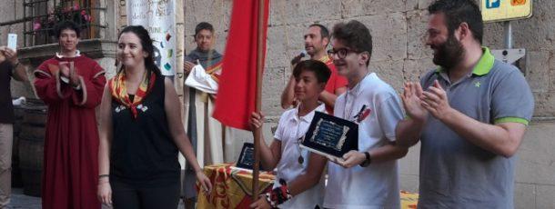 Voltaia e San Donato si aggiudicano i 'Piccoli spingitori del Bravìo delle Botti'